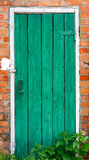 Old weathered door. Royalty Free Stock Photo