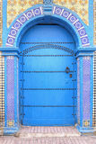 Old and weathered door, Morocco Stock Photo