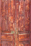 Old Weathered Door Stock Photography