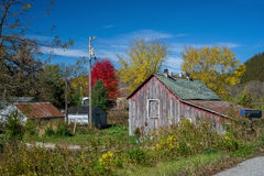 Old weathered farm, southeast minnesota Royalty Free Stock Images