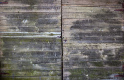 Old weathered floor planks. Royalty Free Stock Photo