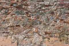 Old weathered grunge brick wall Royalty Free Stock Image