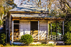 Old Weathered House In Disrepair. Old Boarded Up House in Disrepair Stock Photos