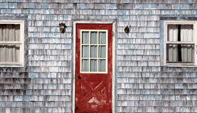 Old, weathered house front Royalty Free Stock Photography