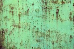Old weathered iron metal sheet with aged corrosion royalty free stock photos