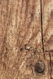 Old Weathered Knotted Cracked Pinewood Floorboard Planking Texture Detail Stock Photography