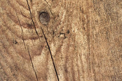 Old Weathered Knotted Cracked Pinewood Floorboard Planking Texture Detail Stock Photo