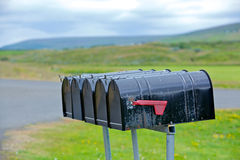 Old weathered mailbox Royalty Free Stock Photo