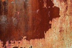 Old weathered metallic rusty texture. royalty free stock photo