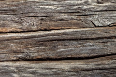 Old Weathered natural wooden texture background Royalty Free Stock Photos