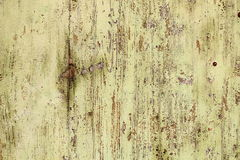 Old weathered paint on wooden surface Stock Photo