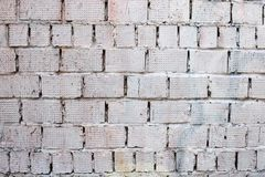 Old Weathered Painted Grey Background Texture. Vintage Background. Peeled Plaster Brickwall stock photography