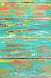 Old Weathered Painted Wood From a Chair Stock Photography