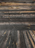 Old weathered plank wood product photo template Royalty Free Stock Image