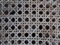Old weathered product design crop closeup on bamboo structure pattern stock photography