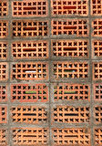 Old weathered red brick wall Royalty Free Stock Photography