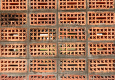 Old weathered red brick wall Royalty Free Stock Photos