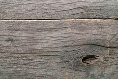 Old Weathered Rotten Cracked Knotted Coarse Wood. Gray Grunge Texture stock photo