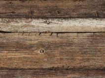 Old weathered plank wood Stock Images