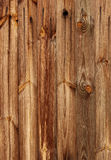 Old weathered rough plank wood Stock Images