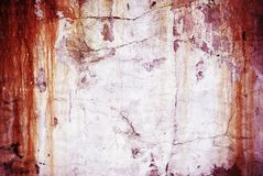 Old weathered rusty wall Royalty Free Stock Images