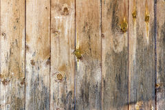 Old weathered shabby wooden planks. Natural wood texture Royalty Free Stock Images