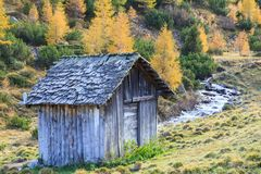 Old weathered shed Royalty Free Stock Photo
