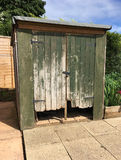Old and weathered shed Stock Image