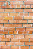 Old weathered stained red brick wall background Royalty Free Stock Photos