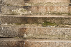 Old weathered stone staircase Stock Photos
