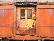 Old, Weathered Train Car Royalty Free Stock Photo