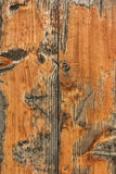 Old Weathered Knotted Pinewood Patio Garden Bench Planks Rough Peeled Off Grunge Surface Texture - Detail Royalty Free Stock Photo