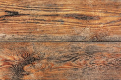 Old Weathered White Pine Planks Knotted Surface Texture Detail Royalty Free Stock Photography