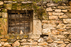 Old Weathered Window Royalty Free Stock Image