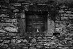 Old Weathered Window Stock Photography