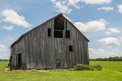 Old weathered wood barn Royalty Free Stock Image