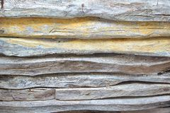 Old Weathered Wood Fence Stock Photography