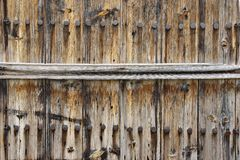 Old Weathered Wood Fence Royalty Free Stock Images