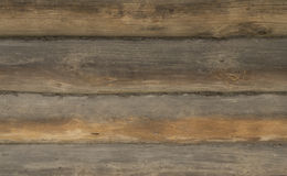 Old weathered wood log wall Royalty Free Stock Photography