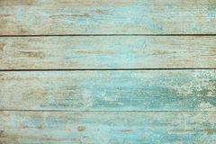 Free Old Weathered Wood Plank Painted In Blue Stock Image - 80311381