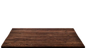 Old weathered wood texture background, wooden table surface. Isolated Royalty Free Stock Images
