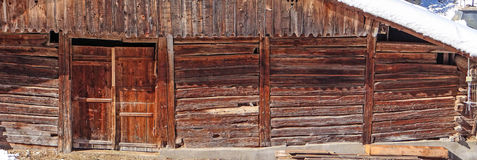 Old weathered wooden barn Royalty Free Stock Images
