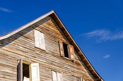 Old Weathered Wooden Building Royalty Free Stock Images