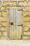 Old Weathered Wooden Door Royalty Free Stock Images