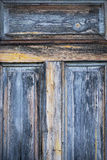 Old weathered wooden door Royalty Free Stock Photo
