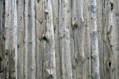 Old weathered wooden fence Royalty Free Stock Images