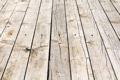 Old weathered wooden floor Stock Photos