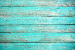 Free Old Weathered Wooden Plank Painted In Turquoise Or Blue Sea Color. Royalty Free Stock Images - 149983379