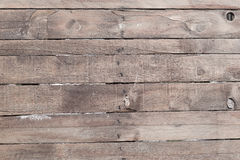 Old weathered wooden plank wall background. Detailed texture Royalty Free Stock Images