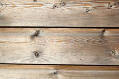 Old weathered wood in close up Royalty Free Stock Images